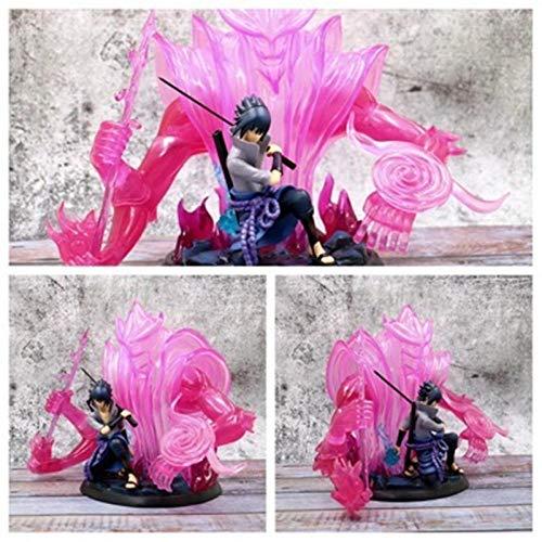 MNZBZ Anime Naruto Uchiha Sasuke Susanoo Acción PVC Figura de colección Modelo Juguetes Naruto Shippuden Sasuke Itachi Figurita Muñeca 30cm