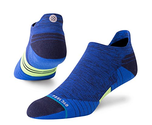 STANCE Men's Uncommon Solids Tab Socks, Blue, Large