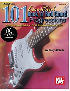 Paperback 101 Essential Rock 'N' Roll Chord Progressions: For Guitar Book