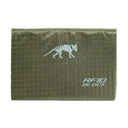 TÜV geprüfter Tasmanian Tiger TT Card Holder RFID B Brieftasche Ausleseschutz Geldbörse NFC Auslesesicher Portemonnaie Kreditkarten-Tasche (Oliv)