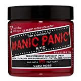 Manic Panic - Cleo Rose Classic Creme Vegan Cruelty Free Semi-Permanent Hair Colour 118ml