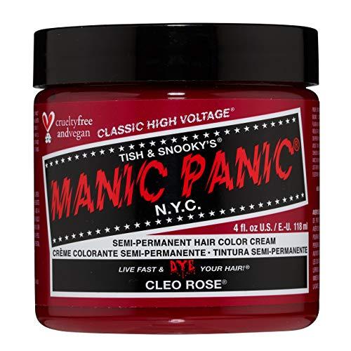 Manic Panic - Cleo Rose Classic Creme Vegan Cruelty Free Red Semi Permanent Hair Dye 118ml