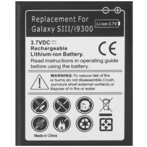 Todobarato24h Bateria Compatible con Samsung Galaxy S3 I9300 Neo I930