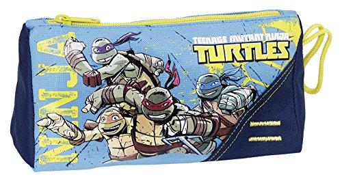 Giochi Preziosi - Tartarughe Ninja Astuccio Bustina, con 1 Cerniera