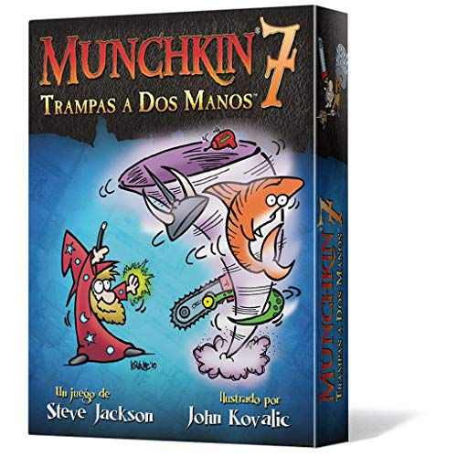 Edge Entertainment- Munchkin 7 - Trampas a Dos Manos - Español, Color...