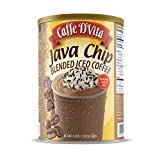Caffe D'Vita Java Chip Latte Blended Ice Coffee 3 lb. (48 oz.) can