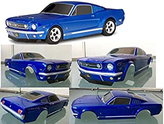 Part & Accessories HPI Racing PC OnRoad Race Touring RC nitro rs4 3 Evo Plyymouth muustang 200mm Body 1/10 Blue