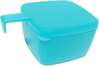 Tupperware Forget Me Not Square Blue
