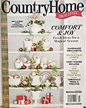 Country Home Holiday Magazine 2019 Handmade Ornaments Easy Sweets
