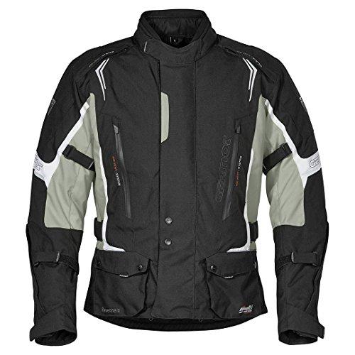 Germot Ravenna II Textiljacke 3XL Schwarz/Weiß/Grau