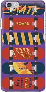 [bodenbaum] iPhone 7 Plus スマホケース ハードケース Apple アップル アイフォン セブンプラス docomo au SoftBank SIMフリー スケボー スケートボード hard-g003 (B.パープル)