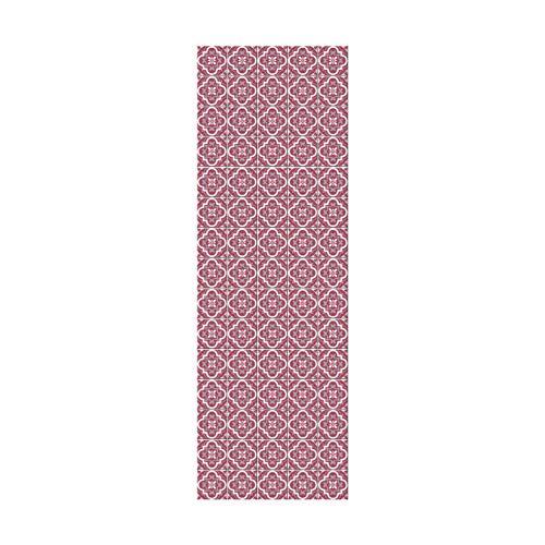 Doge Milano Passatoia Antiscivolo 100% Made in Italy, Antimacchia in Ciniglia di Poliestere Effetto Velluto, Tappeto Lavabile in Lavatrice, Runner Cucina Antiacaro, 240 x 52, Tessuto Microfibra, 240