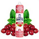 Daintys - Cherry Menthol - Eco Vape E-Liquid   50ML   Sin Nicotina: 0MG   70VG/30PG   E-Liquido para Cigarrillos Electronicos   Vaper   E Cigarette   E Shisha