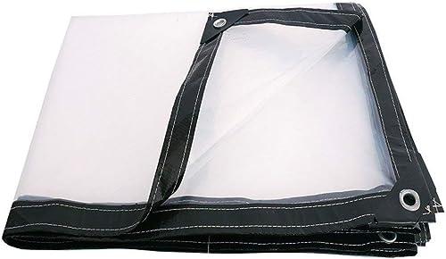 T-ShommeET Bache Imperméable Robuste Couvrant Le Film De Tissu De Pluie Anti-VieillisseHommest PE Isolation, épaisseur 0.13 MM, Blanc Noir, (100 G Mètre voitureré) (4X5M)