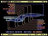 Der Museum Steckdose Charts von–lcars UFP Galaxy Class Starship–A3Poster Druck