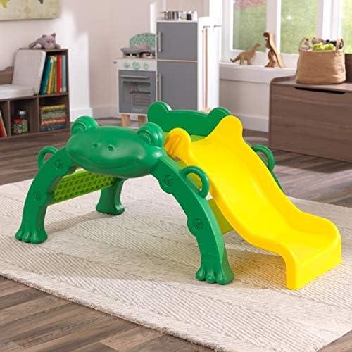 Hop & Slide Frog Climber (KidKraft) - Assembled set on the floor