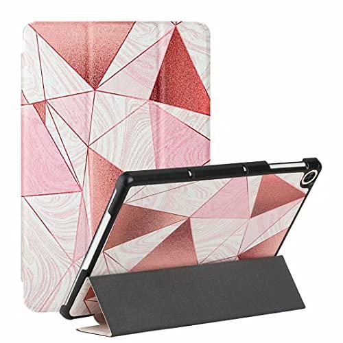 Ufgoszvp Funda para Samsung Galaxy Tab A7 Lite 8.7/T220/T225 – Premium PU cuero ultra ligero delgado Shell cubierta soporte Auto Wake/Sleep, arena en polvo