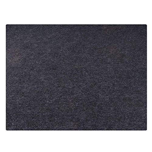 """SMART HOME CHEF Grill Mat (36"""" x 30"""") Deck Protecting Gas Grill Splatter Mat to Protect Decks and Patios from Grease Splatter and Other Messes"""