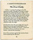 F. Scott Fitzgerald - The Great Gatsby - 11x14...