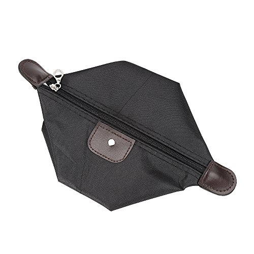 no brand AGBFJY 1 Dumpling Shape Travel Cosmetic Bag Storage Bag Portable Outil de Maquillage Multifonctionnel
