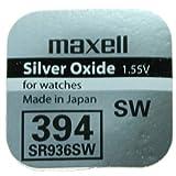 Maxell SR936 SW - 394 - Batería de Óxido de Plata 1.55V - 1 Unidad