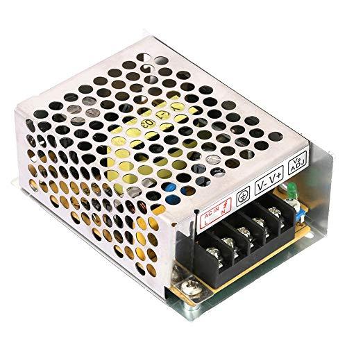 Keenso Spannungswandler 5A 12V AC/DC Spannungswandler Universal Geregeltes Schaltnetzteil für LED