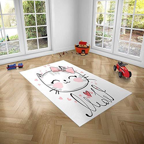 Oedim PVC Kattentapijt voor kinderkamers | 95 x 95 cm | PVC Tapijt | Vinyl Vloer | Huisdecoratie | Synthetische Vloer | Vloerbedekking voor kinderen |