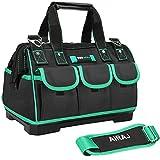 AIRAJ 18-in Waterproof Tool Bag,Wide Mouth Multi-pocket Tool...