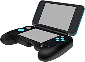 Fintie Hand Grip for Nintendo 2DS XL, [Ergonomic Design] Comfort Anti-Slip Controller Grip with Stand for New 2DS XL/LL 2017 - Black