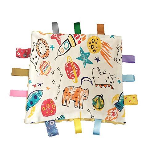 G-Tree Couverture de sécurité pour l'éducation, Taggies Blanket Belle taggie Consolateur Taggies Couverture de sécurité pour bébé facile à Grsap