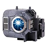 EWO'S ELP50 Replacement Projector Lamp for Epson ELPLP50/V13H010L50 Powerlite 84 84+ 825 825+ 826W 826W+ 85 85+ Lamp Bulb Replacement