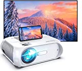Bomaker WiFi Mini Outdoor Projector, HD 1080P and 300'' Display Supported, 150 ANSI Lumen Portable Outdoor Movie Projector Home Theater, Wireless Mirroring for iPhone/TV Stick/PS4/DVD/Android/Windows