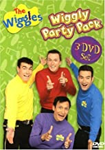 The Wiggles - Wiggly Party Pack: (Dance Party / Hoop-Dee-Doo! / Wiggle Time)