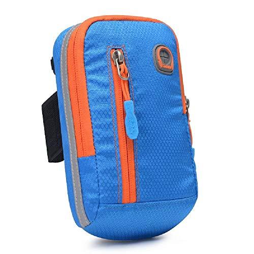 U/A Herren Arm Tasche 6 Zoll Handytasche Multifunktionale Mode UmhäNgetasche Kleine Tasche Outdoor Sport Handgelenk Tasche Armband