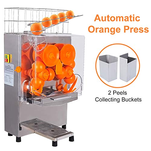 Check Out This Juicer Machine Automatic Orange Squeezer Grapefruit Juice Extractor Beverage Dispense...