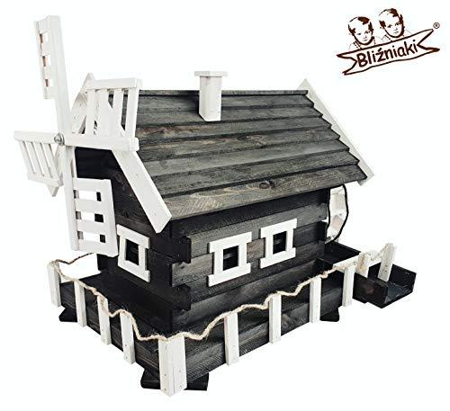 BLIZNIAKI Bildschön Wassermühle aus Holz (MWKS3 CZ BI)