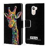 Official P.D. Moreno Giraffe Animals Leather Book Wallet