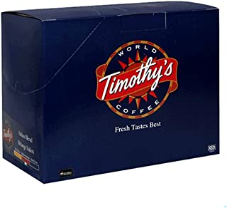 Timothy's World Coffee, Italian Blend, K-Cups for Keurig Brewers, 24-Count Box (Pack of 2)