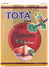 VRINDAVANBAZAAR.COM TOTA Chandan TIKA Paste for Puja | Sandalwood Tilak with Kesar | SkinFriendly Natural Ingredients | Co...