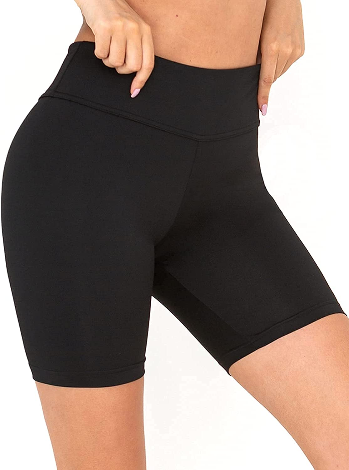 Balleay Art Yoga Shorts for Quantity limited Max 72% OFF Women Control Waisted Wor High Tummy