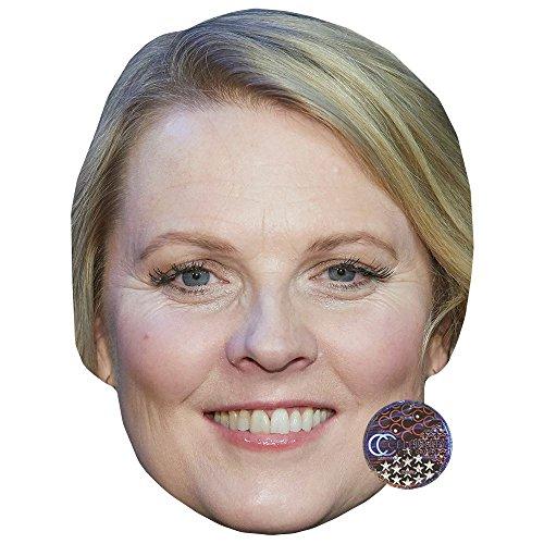 Celebrity Cutouts Patricia Kelly Maske aus Karton