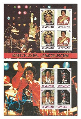 Il Michael Jackson Re del Pop bollo previsto per i collezionisti - francobolli imperforato - Mint condition