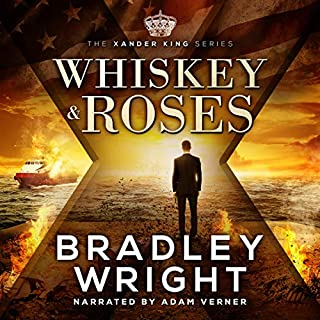 Whiskey & Roses audiobook cover art