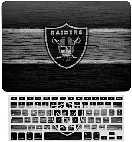 G III Sports Oakland Raiders New 2020 MacBook air 13 Case Laptop Hard Case and Keyboard Film product image