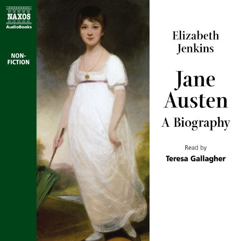 Jane Austen audiobook cover art
