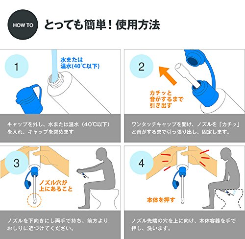 ライフテースト『携帯用おしり洗浄機』