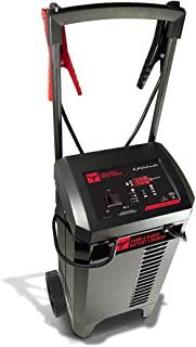 Schumacher FR01336 6/12V Wheeled Fully Automatic Battery Charger and 125/250A Engine Starter