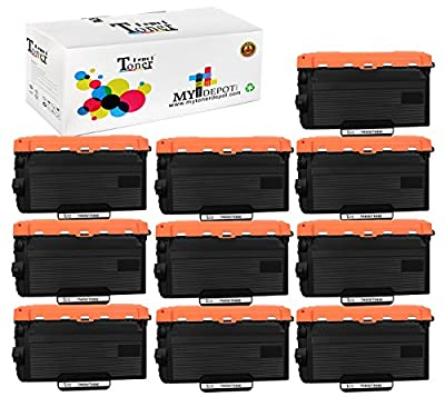 TonerDepot Compatible with Brother TN820, TN850 Toner Cartridge Multi-Fit Black Ink Box for Brother Laser Printers and Brother All in One Machine