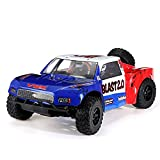 RC Cars Stunt Autospielzeug 75km / H High Speed ​​RTR Truck Fahrzeugmodelle 10.01 2.4G Force.18 Methanol Fuel Stroke Motor RC Car (Color : Multi-Colored, Size : One Size)