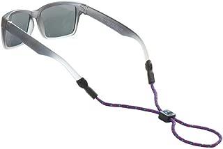 Chums Kid's Universal Fit Rope Eyewear Retainer in Purple/Red/Green